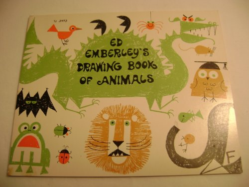 9780590102667: Ed Emberley's Drawing Book of Animals