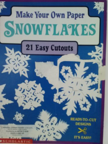 Make Your Own Paper Snowflakes - 21 easy cutouts