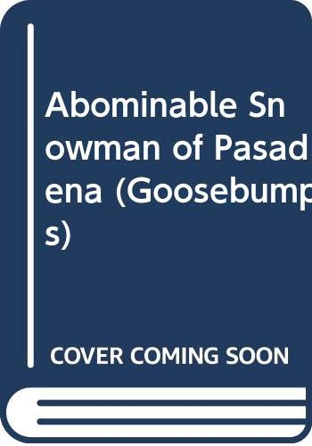 9780590111744: Abominable Snowman of Pasadena