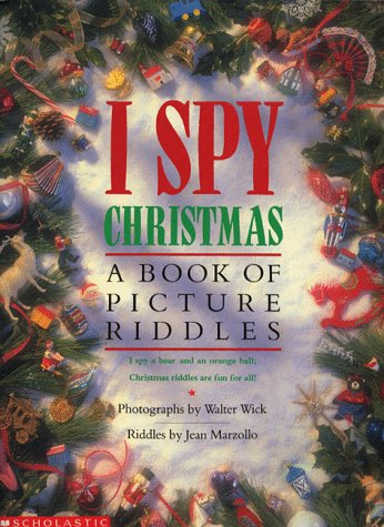 9780590112321: I Spy Christmas: A Book of Picture Riddles