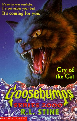 9780590113106: Cry of the Cat (Goosebumps Series 2000)