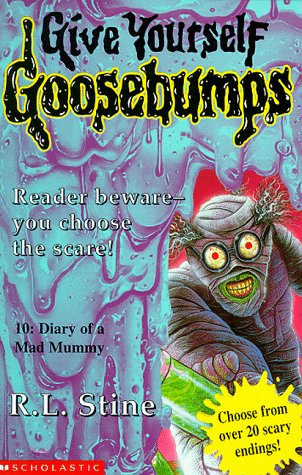 9780590113359: Diary of a Mad Mummy (Give Yourself Goosebumps)