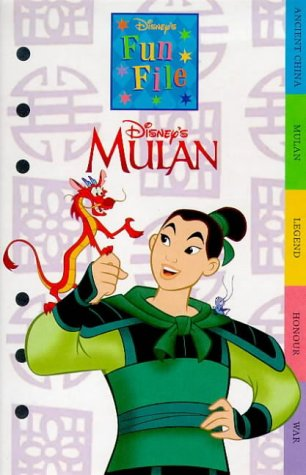 9780590113779: The Legend of Mulan (Disney Organiser Booklets)