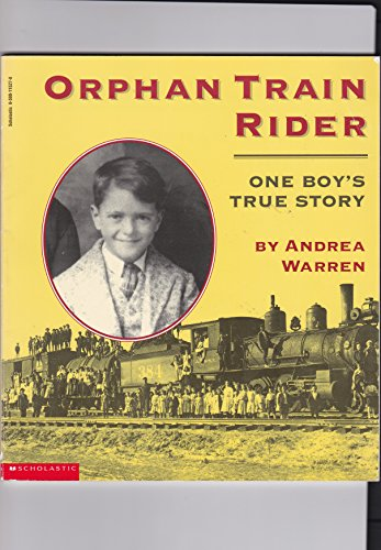 9780590115278: Orphan train rider: One boy's true story