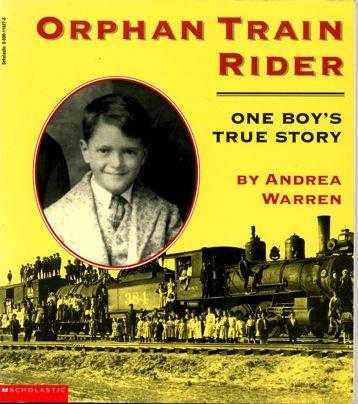 9780590115278: Orphan train rider: One boy's true story