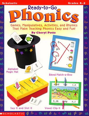 9780590115940: Ready-to-Go Phonics (Grades K-2)