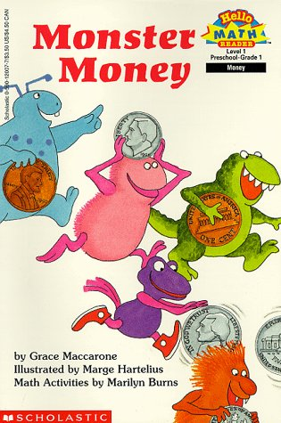 9780590120074: Monster Money (Hello Reader, Math, Level 1)