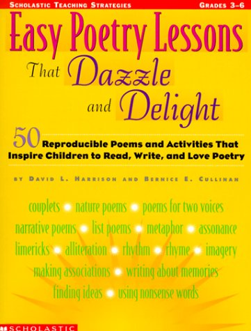 9780590120500: Easy Poetry Lessons That Dazzle and Delight (Grades 3-6)