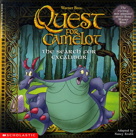 The Search for Excalibur (Quest for Camelot): Krulik, Nancy, Weber, Bruce