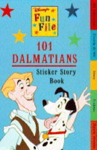 9780590131858: The 101 Dalmatians: Sticker Story Book (Disney Organizer)