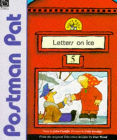 9780590132503: Letters on Ice (Postman Pat Story Books)