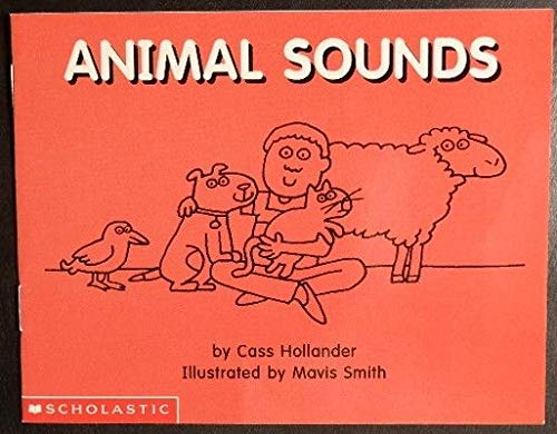 Amimal Sounds (My Books, 6): Hollander, Cass