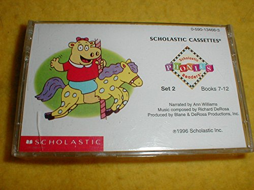 Scholastic Phonics Readers,Set 2 (Scholastic Readers on Cassette, Books 7-12) (9780590134668) by [???]