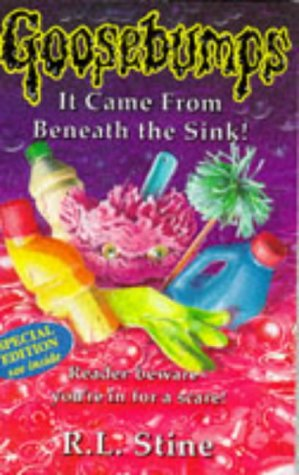 9780590135399: It Came from Beneath the Sink (Goosebumps S.)