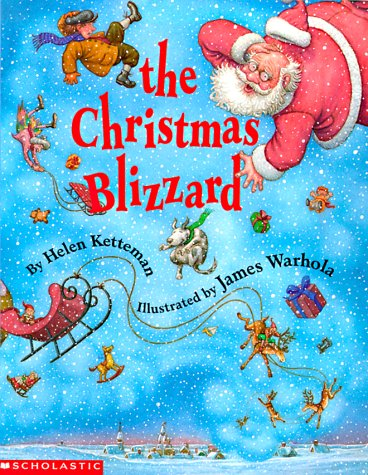 9780590136099: The Christmas Blizzard