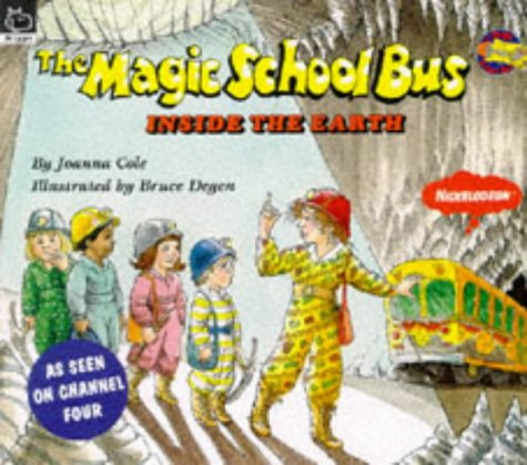 9780590139526: The Inside the Earth (Magic School Bus)