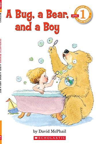 9780590149044: A Bug, a Bear, and a Boy (Scholastic Reader, Level 1)