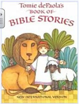 9780590149600: Tomie De Paola's Book of Bible Stories: New International Version