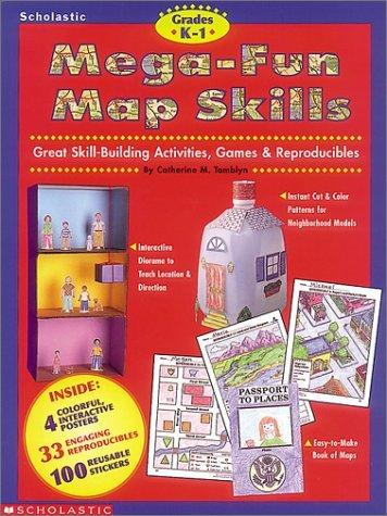 9780590187985: Mega-Fun Map Skills (Grades K-1)