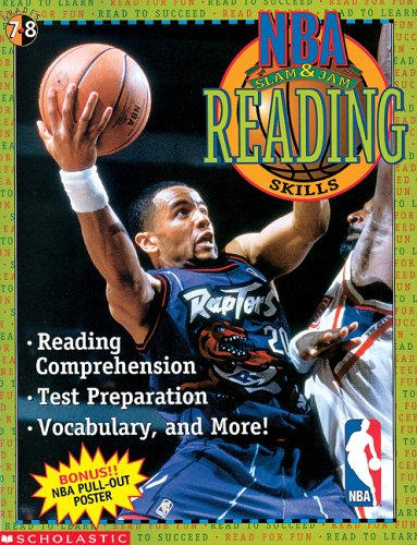 9780590188463: NBA Slam & Jam Reading Comprehension Skills For Grades 7-8