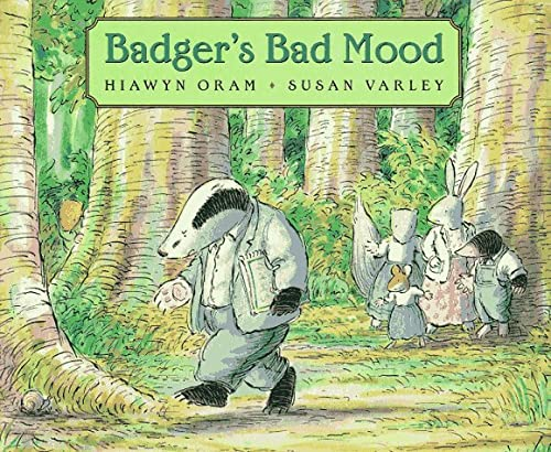 9780590189200: Badger's Bad Mood