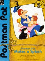 9780590191043: Postman Pat Makes a Splash (Postman Pat Easy Reader)