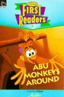9780590193290: Abu Monkeys Around (Aladdin) (Disney First Reader)