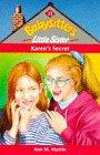 9780590197892: Karen's Secret (Babysitters Little Sister)