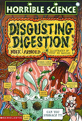 9780590198097: Disgusting Digestion (Horrible Science)