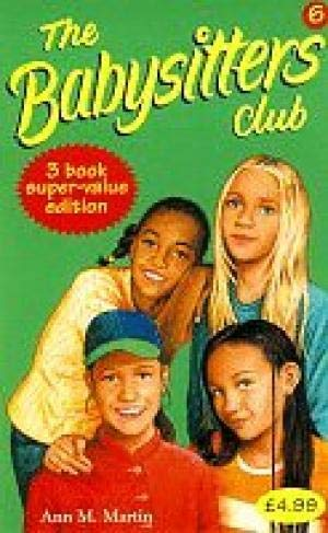 """9780590198844: Babysitters Club Collection 6: """"Jessi's Secret Language"""", """"Mary Anne's Bad-luck Mystery"""", """"Stacey's Mistake"""" No. 6"""