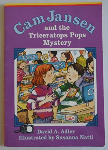 9780590200080: Cam Jansen and the Triceratops Pops Mystery