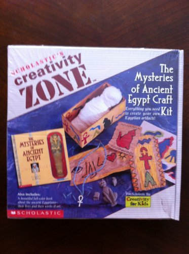 9780590202541: The Mysteries of Ancient Egypt Craft Kit: Everything You Need to Create Your Own Egyptian Artifacts! (Creativity Zone)