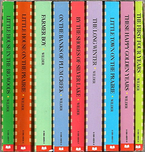 The Little House Books Boxed Set: Laura Ingalls Wilder