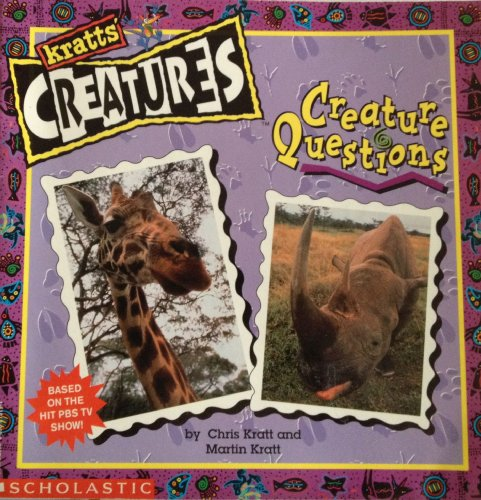 9780590215190: Creature questions (Kratts' creatures)