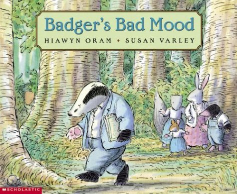 9780590216937: Badger's Bad Mood