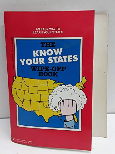 The Know Your States Wipe-Off Book: Hartley, David