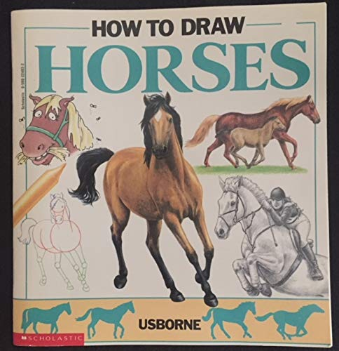 9780590224833: How to draw horses