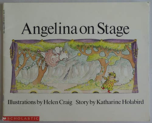 9780590224840: Angelina on Stage