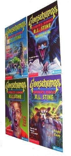 9780590226325: Goosebumps Series 2000 Boxed Set, Books 5-8: Invasion of the Body Squeezers, Part 2; I Am Your Evil Twin; Revenge R Us; and Fright Camp