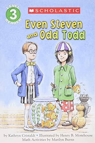 9780590227155: Scholastic Reader Level 3: Even Steven and Odd Todd (Hello Math Reader. Level 3)