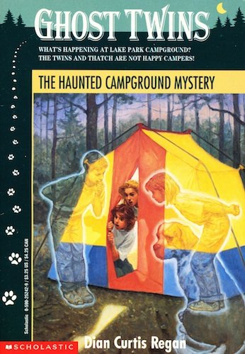 9780590252423: The Haunted Campground Mystery (Ghost Twins)