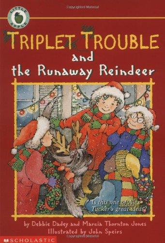 9780590254731: Triplet Trouble and the Runaway Reindeer