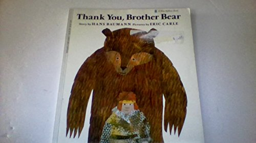 9780590254878: Thank You, Brother Bear