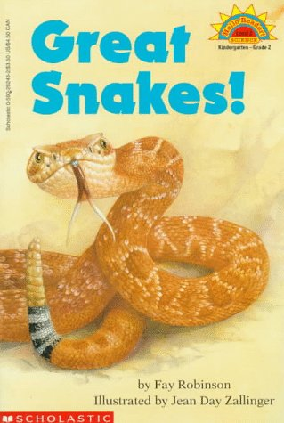 9780590262439: Great Snakes! (level 2) (Hello Reader)