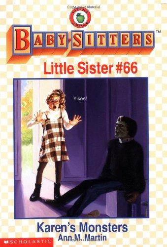 Karen's Monsters (Baby-Sitters Little Sister, No.66): Martin, Ann Matthews