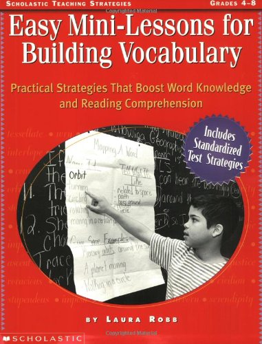 9780590264662: Easy Mini-Lessons for Building Vocabulary (Grades 4-8)