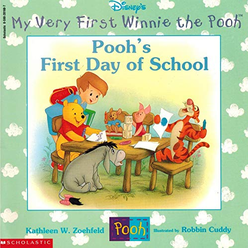 9780590281607: Pooh's First Day Of School (Disney's My Very First Winnie The Pooh)