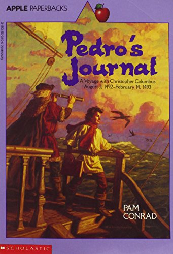 9780590291361: Pedro's Journal: A Voyage With Christopher Columbus August 3, 1492-February 14, 1493