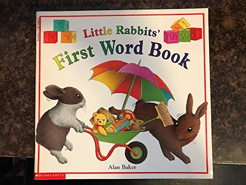 Little rabbits' first word book (9780590299008) by Alan Baker