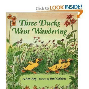 Three Ducks Went Wandering (0590303619) by Ron Roy